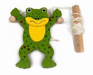 Spielzeug Für Kinder Ab 3 Jahren : spielzeug krabbelfrosch an seilen aus holz f r kinder ab 3 ~ A.2002-acura-tl-radio.info Haus und Dekorationen