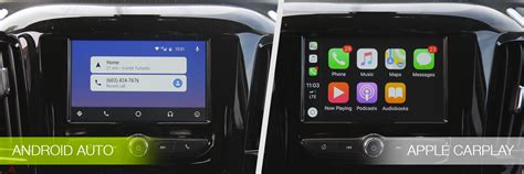Android Auto Bedienkonzept Design by Android Auto Vs Apple Carplay What S New In 2018