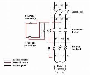 Wiring A Motor Control Circuit - Electrical