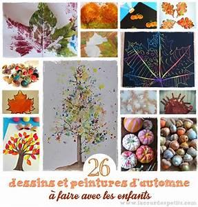 Bricolage Automne Primaire : 26 peintures et dessins d 39 automne la cour des petits ~ Dode.kayakingforconservation.com Idées de Décoration