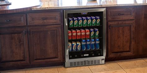 home bar cabinet with refrigerator why your home bar needs a beverage refrigerator