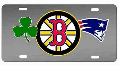 Boston Teams Sports Combined Sport License Vanity