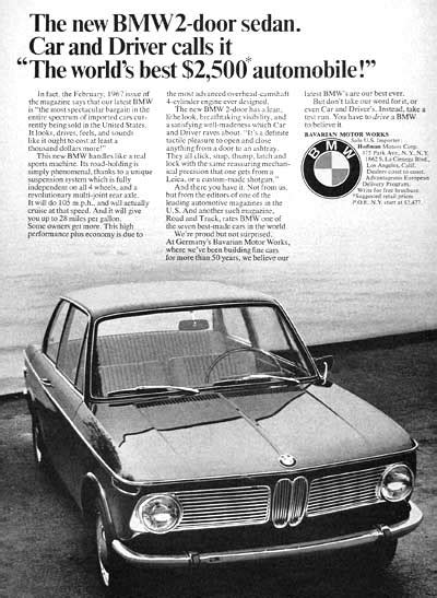 bmw magazine ads more classic bmw magazine ads pics mye28 com