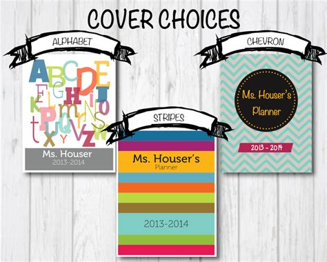 teaching portfolio template diy planner binder ms houser