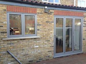 aluminium bi fold doors enfield bi fold doors north london With bifold doors with windows