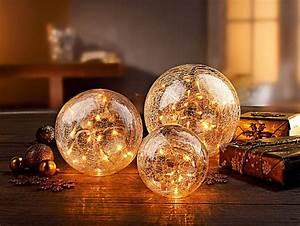 Deko Aus Glas : kommentare zu leuchtkugel aus glas 3er set farbe klar ~ Watch28wear.com Haus und Dekorationen
