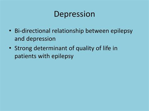 mental health issues  epilepsy powerpoint