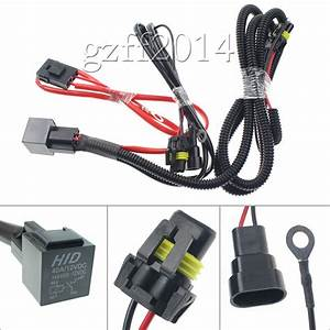 Drl 9005 9006 Relay Wiring Harness For Hid Conversion Kit