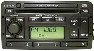 Ford 6006e Cd Changer Radio Rds Code Focus Mondeo Fiesta