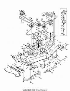 Troy Bilt 17bdcack066 Mustang 54 Xp  2014  Parts Diagram