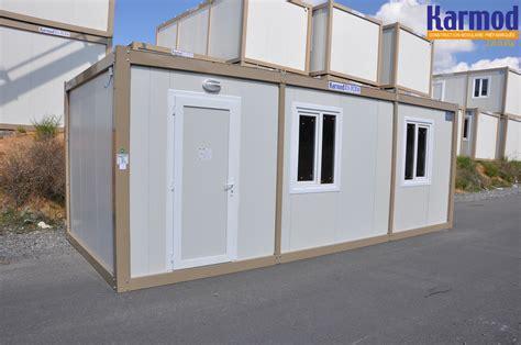 container bureau prix construction bureaux modulaire préfabriquée karmod karmod