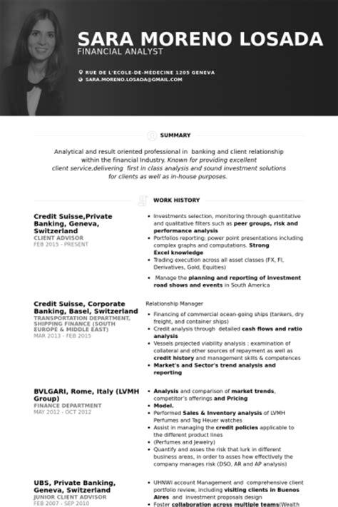 resume model for bank banking resume sles visualcv resume sles database