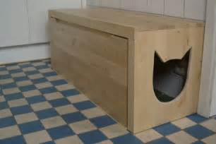 Litter Box Bench by Diy Litter Box Bench Petdiys Com