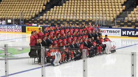 Kanāda pirms spēles ar Latviju izmaina visus virknējumus, nespēlēs Dibuā - Hokejs - Sportacentrs.com
