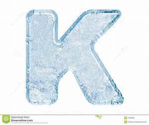 Ice font stock illustration. Illustration of message ...