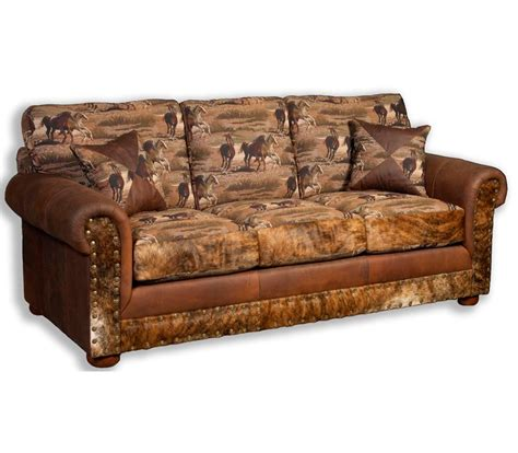 rustic western couches details quick view furniture