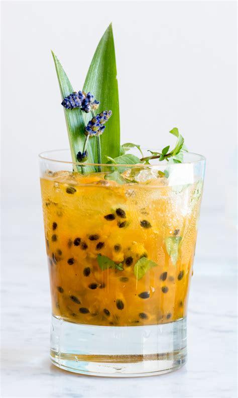 lavender cocktail lavender passion fruit vodka lemonade pineapple and coconut