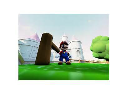 Mario Super 64 Castle Peach Ultra Games