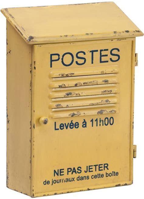 range courrier postes jaune