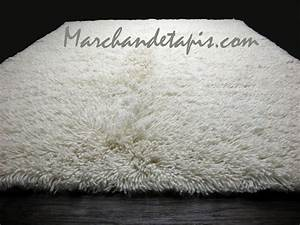 tapis shaggy pure laine vierge 240cm x 340cm flokos With tapis en laine ikea
