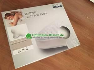 Kopfkissen Seitenschläfer Testsieger : tempur ombracio packung optimales das beste kopfkissen f r dich ~ Watch28wear.com Haus und Dekorationen
