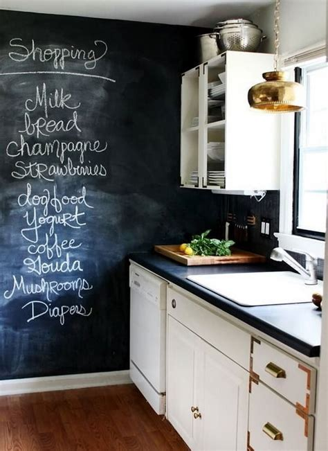 ideas for kitchen wall 9 cool kitchen designs with chalkboard wall https