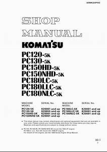 Komatsu Hydraulic Excavator Pc120