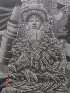 Aztec Quetzalcoatl Feathered Serpent Drawings