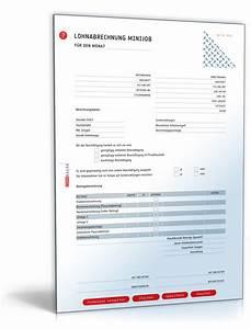 Urlaubsanspruch 450 Euro Job Berechnen : lohnabrechnung gehaltsabrechnung f r mini jobs bis 450 euro 2013 de vorlage download ~ Themetempest.com Abrechnung