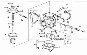 Arctic Cat Atv 2001 Oem Parts Diagram For Carburetor  300