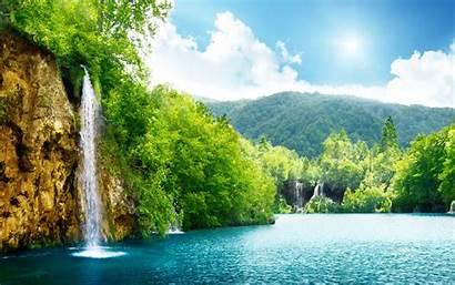 Windows Nature Wallpapers 4k Waterfall Win Wallpapersafari
