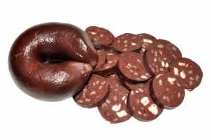 Black Pudding Blood Sausage