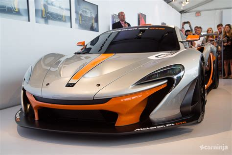 The Mclaren P1 Gtr Is A 986bhp Hybrid Monster