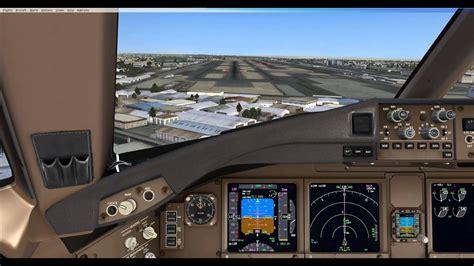 fsx pmdg  lr landing runway   dubai intl