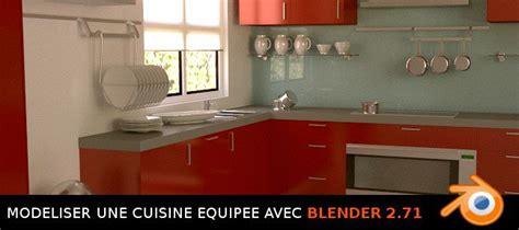 modelisation cuisine tuto blender modélisation d 39 une cuisine équipée avec
