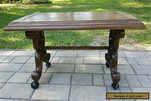 vintage mid century french provincial style coffee table With coffee table legs with wheels