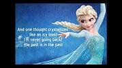 """Let it go """"Frozen"""" - Idina Menzel lyrics - YouTube"""