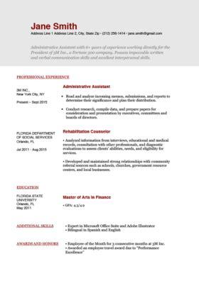 Free Resume Temp by Free Resume Templates For Word Resume Genius