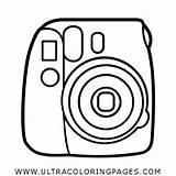 Coloring Camera Pages Polaroid Instax Vector Mini Getcolorings Printable Print sketch template