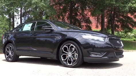 ford taurus sho whats  review walkaround