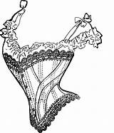 Corset Clipart Drawing Hourglass Vector Clip Svg Domain Cliparts Clipartmag Getdrawings 1001freedownloads Vectors Library Clothing sketch template