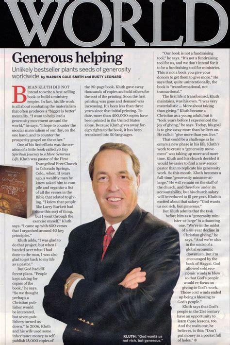 leading authority  media expert  philanthropy church