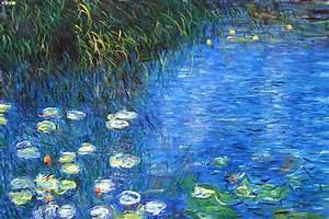 Claude Monet Nymphéas / Water Lilies / Le ninfee Painting series Tutt'Art@ Pittura