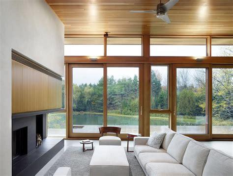 beautiful lake home  eco friendly concept housebeauty