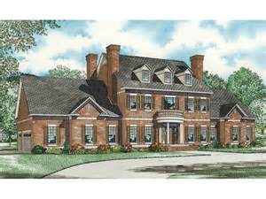 colonial home designs saltsburg luxury georgian home plan 055s 0081 house plans and more