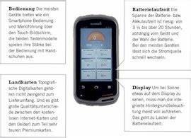 Gps Geräte Test : gps ger te acht modelle im test ~ Kayakingforconservation.com Haus und Dekorationen