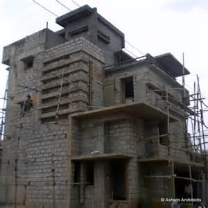 Brick Residential Building Design