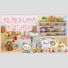My Rilakkuma Kitchen Tour ♡ Kawaii Room Decor ♡  Youtube