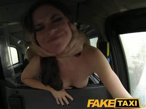 Curly Cam Gets In Fake Taxi