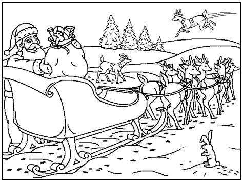 Kleurplaat kerst page 1 voyceeu. Kerst Kleurplaten - Arreslee